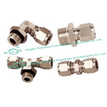 JKG High-Strength Cutting Ferrule Tube Fitting(Brass)