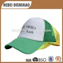 Haute qualité Personnaliser les imprimés Cap Summer Mesh Hats Unisex