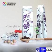 Aluminiumfolie 4-seitige Dichtungs-Plastikverpackungsbeutel