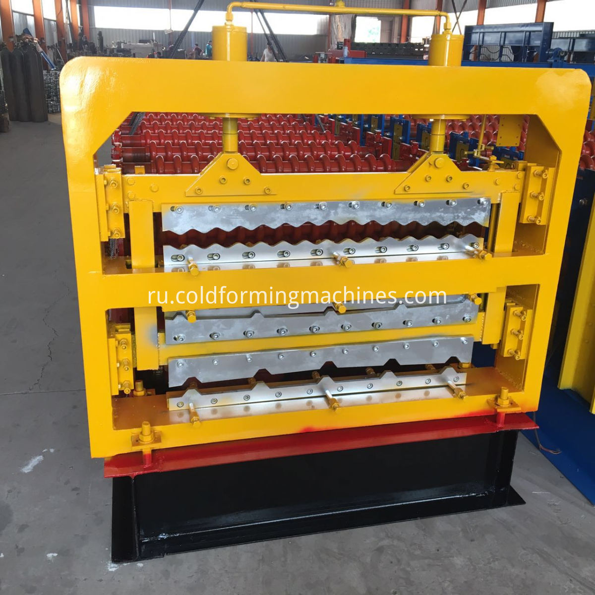 Three layer roll forming machine 3