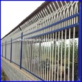 factory price spear top double rail  fence