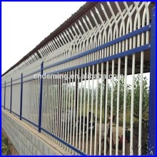 security fencing spear tops, spear top single rail fences