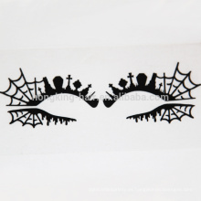 Spider web Eyes decoración pegatina sombra de ojos maquillaje pegatina crytal tatuaje pegatina