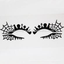 Araignée web yeux décoration autocollant ombre à paupières composent autocollant de tatouage autocollant crytal
