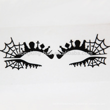 Spider web Eyes decoration sticker eye shadow make up crytal sticker tattoo sticker