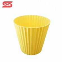 Cubo de cocina de plástico cubo de basura doméstico para el almacenamiento