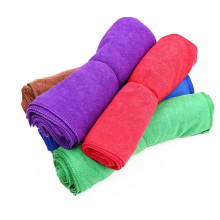Microfibra color personalizado Warp Knitting Pet Towel