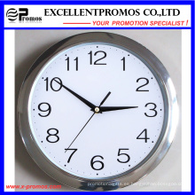 29 cm de diámetro logotipo de impresión de plástico redondo reloj de pared (EP-Item11)