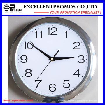 29 centímetros de diâmetro logotipo de impressão rodada relógio de parede de plástico (EP-Item11)