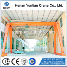 MH Model Trussed Electric Hoist Single Beam Gantry Crane