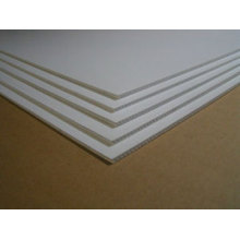 White hollow board carton