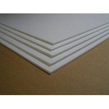 Milky white plastic sheet