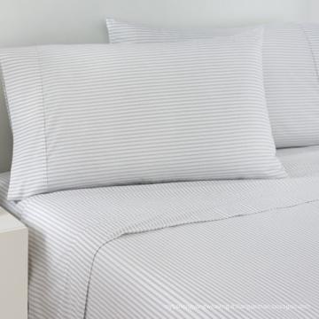 100% coton satin bande de literie lin pour l'hôtel / maison (WS-2016344)