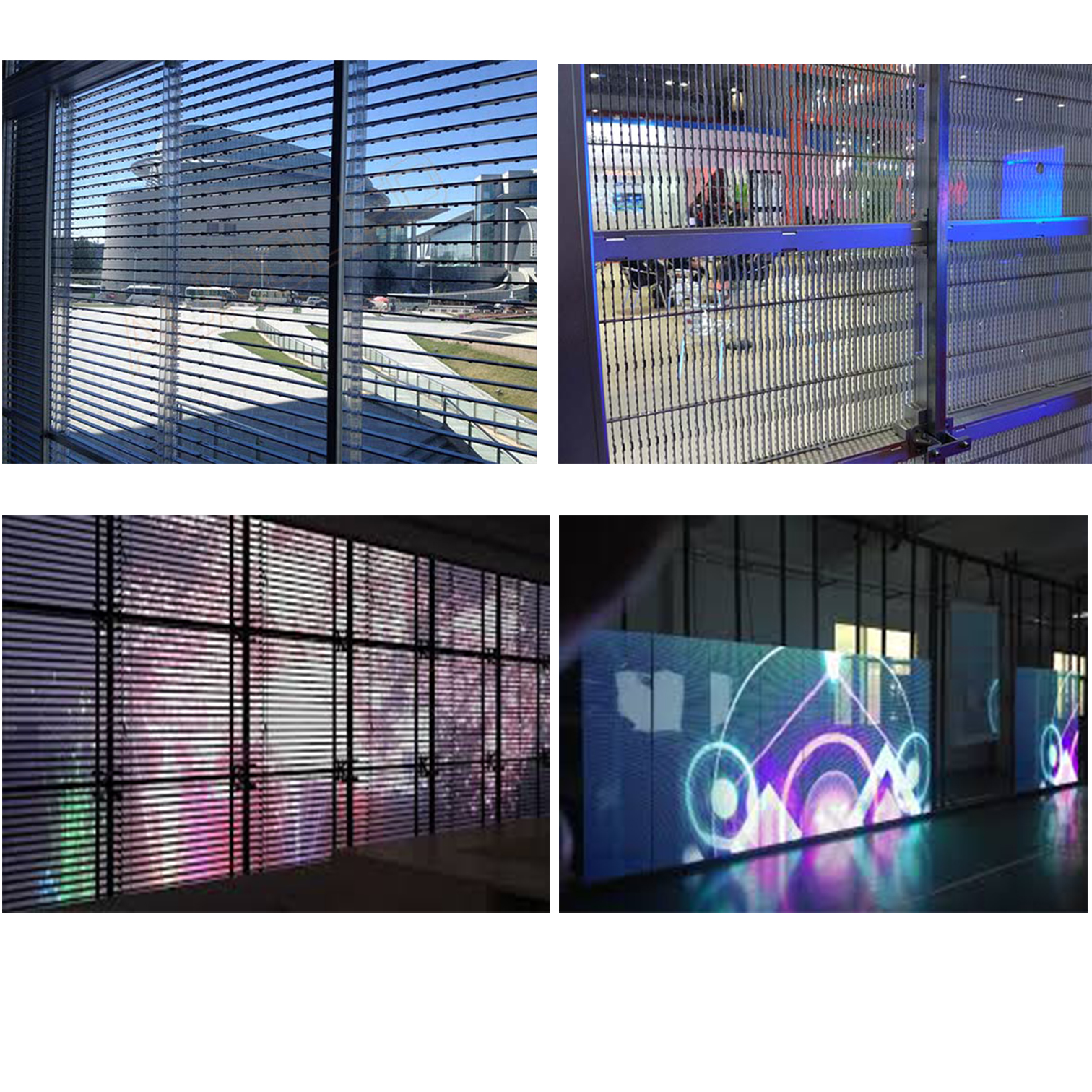 Glass Transparent Led Display