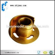 Parte de mecanizado del cnc de cobre amarillo de encargo de la nueva llegada del grado superior