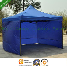 3mx3m Folding Tent Gazebos with Three Sidewalls for Rental (FT-3030SW3)