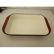 Gusseisen Emaille Lasagne Pan Serving Dish