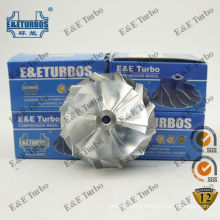 HE221W Billet / Milling Compressor Wheel with Mix-Flow Style