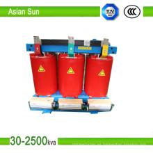315kVA transformador tipo seco transformador Toroidal transformador (12KV)