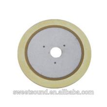 Piezo cerámica eléctrica 31mm 2.0khz elementos pzt fábrica
