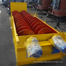 Spring Screw Sand Washing Machine for Cleaning Silica Sand/Riversand