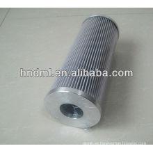 El reemplazo para el elemento del filtro de aceite hidráulico de la bomba FILTREC RLR425E10B, cartucho de filtro con motor de aceite