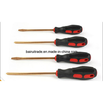 Non Sparking Copper Alloy Screwdriver Brass Screwdrivers