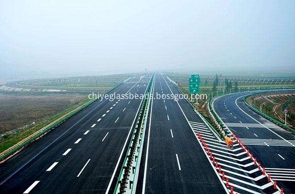 Highway marking