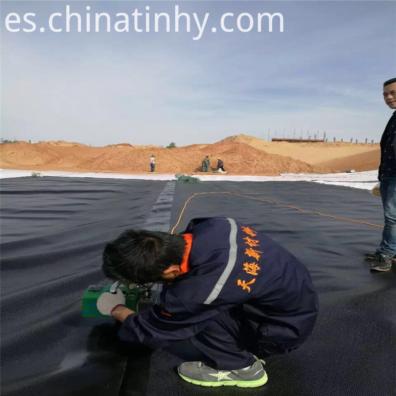 Texture Geomembrane Weiding