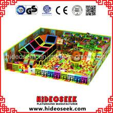 Innenlösungs-Kinderspielplatz-Ausrüstung für Erholungsstätte