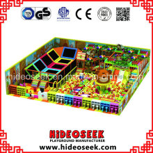 Indoor Solution Children Playground Equipment for Recreation Center