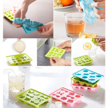 Bowknot Button Shape Silicone Ice Mould Ice Tray