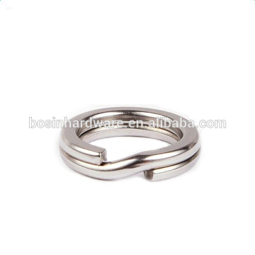Fashion High Quality Metal Heavy Duty 10mm Stainless Steel Fishing Ring