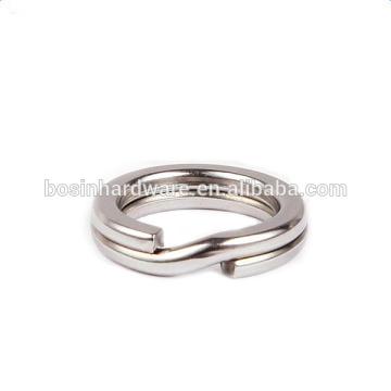 Moda de alta qualidade de metal pesado 10 milímetros de aço inoxidável anel de pesca