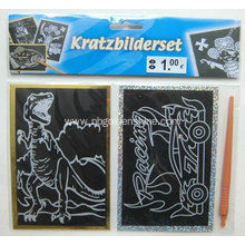 Massive Selection for Fun Scratch Art Foil Magic Scratch Poster Art export to Italy Exporter