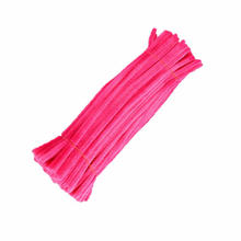 Wholesale 9mm*30cm colored Craft Wire Pipe Cleaners Chenille Stems for DIY
