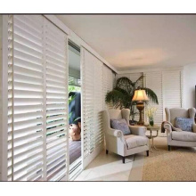 Tilt rod on the Edge Door plantation shutters 89mm louver Door shutters