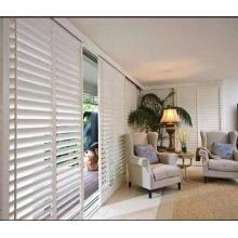 Haste de inclinação na borda da porta persianas de plantio 89mm persianas persianas