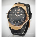 2017 New Designer Mens Gold Automatic Watch with Japan Movement