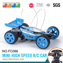 ABS matériel 2.4 G 4CH 01:10 numérique modèle tout-terrain nitro rc mini voiture avec EN71/ASTM/EN62115/6P R & TTE/EMC/ROHS