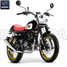 MASH DIRT TRACK 125cc noire Body Kit Ricambi originali