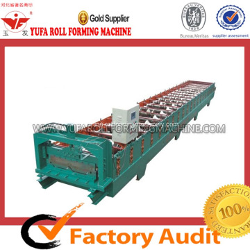 One of Hottest for Roof Panel Roll Forming Machine YF51-410-820 Arch Roof Roll Forming Machine export to Papua New Guinea Manufacturer