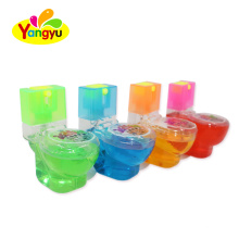 Toilet Shape Sour Fruits Spray Candy