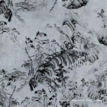 China Tela de forro elástico 100% poliéster (PPF-052)