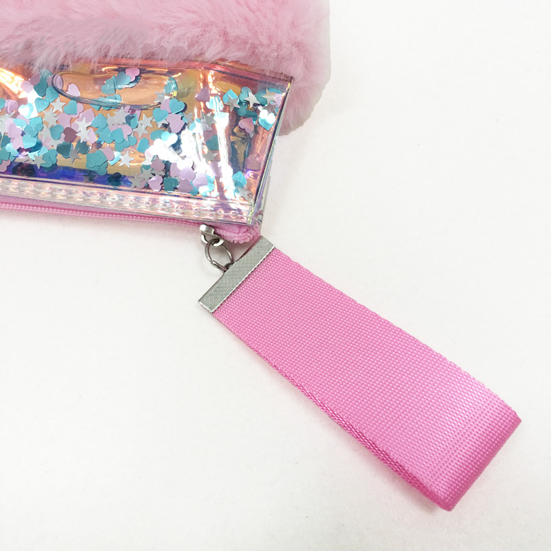Glitter Plush Pencil Case 3