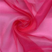 Sparkle Organza Tulle Fuschia pour Lady Dress