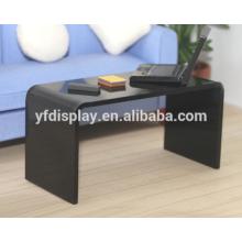 Café acrylique de mode en couleur noire
