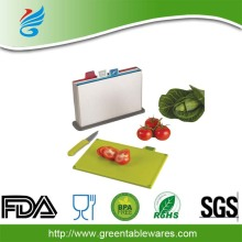 Factory outlet vegetable plastic chopping board plastic cutting board