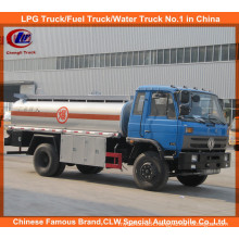 Heavy Duty 6 Wheels 10000liters 15000 Liters Oil Tank Truck Dongfeng Fuel Tank Truck