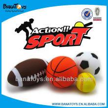 Brinquedo esportivo pu stress bola